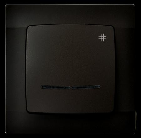 Łącznik krzyżowy z podświetleniem ŁP-4SS/40 seria Karo OSPEL