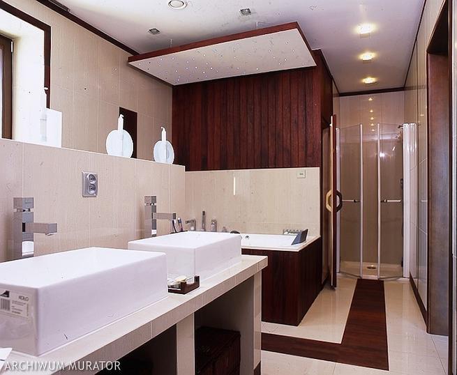 Sauna w domu. Nowoczesna, ekskluzywna łazienka