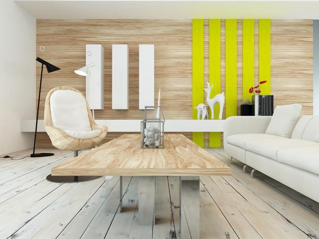 Salon w stylu skandynawskim. Aranżacja pokoju dziennego