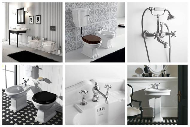 zobacz galeri zdj pomys na azienk w stylu retro stronywn. Black Bedroom Furniture Sets. Home Design Ideas