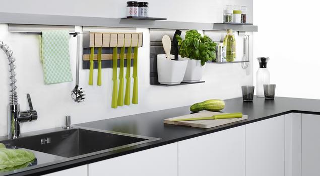 Aranżacja małej kuchni Systemy meblowe PEKA -> Inspiracje Kuchni Malej