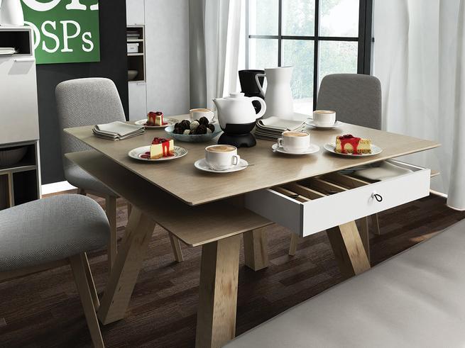 Wielofunkcyjny stół. Aranżacja jadalni – nie tylko w małym mieszkaniu