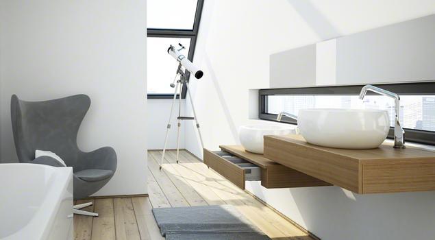 Nowoczesne Meble łazienkowe Aranżacja łazienki W Miejsk