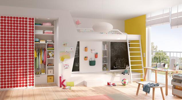 Systemy i meble do pokoju dziecięcego. Systemy do przechowywania Raumplus