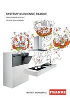 Systemy kuchenne FRANKE 2016 2017