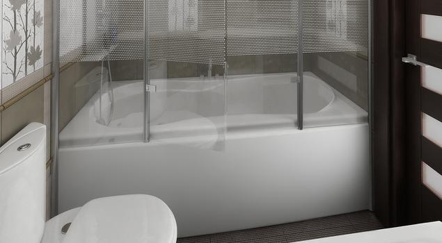 Pomysł na małą łazienkę. Wanna czy prysznic - co wybrać?